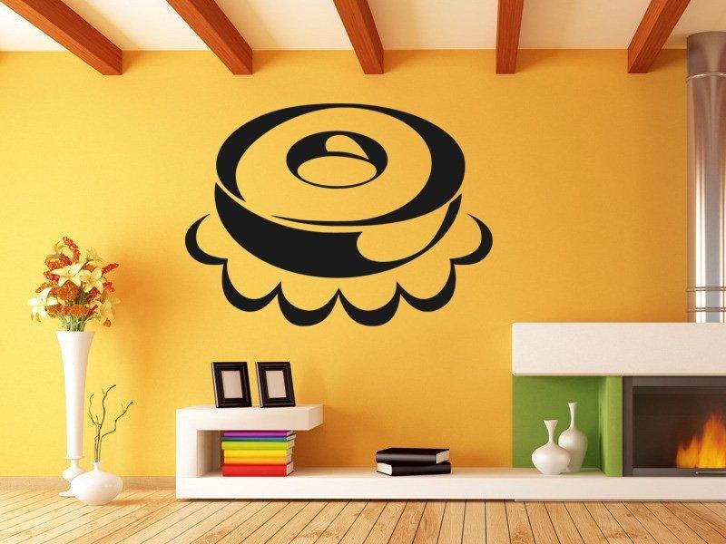 Samolepky na zeď Dort 0157 - Samolepící dekorace a nálepka na stěnu