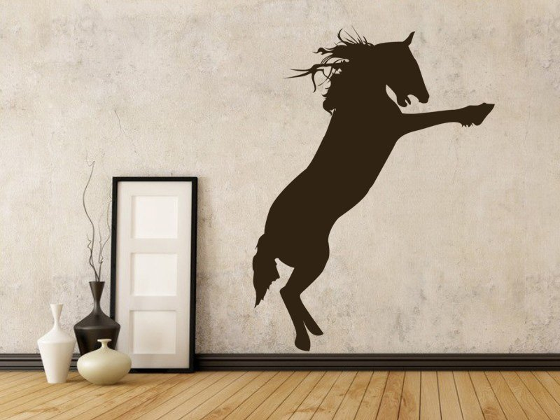 Samolepky na zeď Kůň 008 - Samolepící dekorace a nálepka na stěnu
