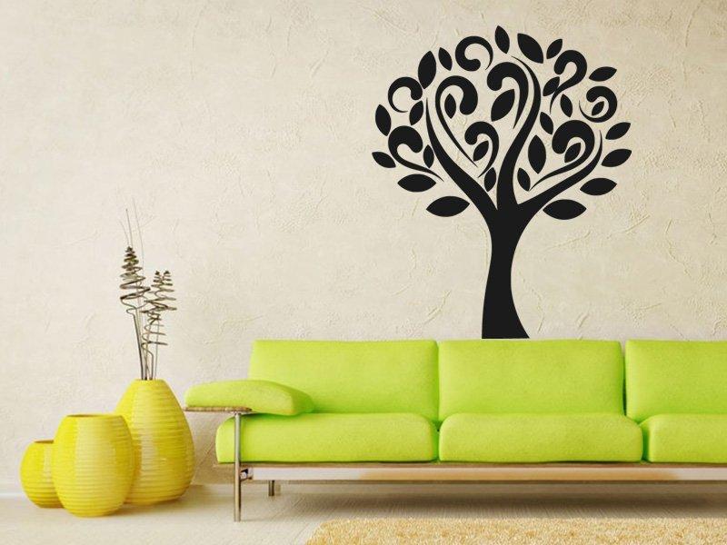 Samolepky na zeď Strom 0225 - Samolepící dekorace a nálepka na stěnu