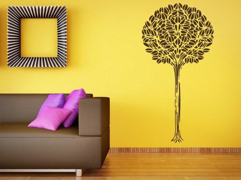 Samolepky na zeď Strom 002 - Samolepící dekorace a nálepka na stěnu