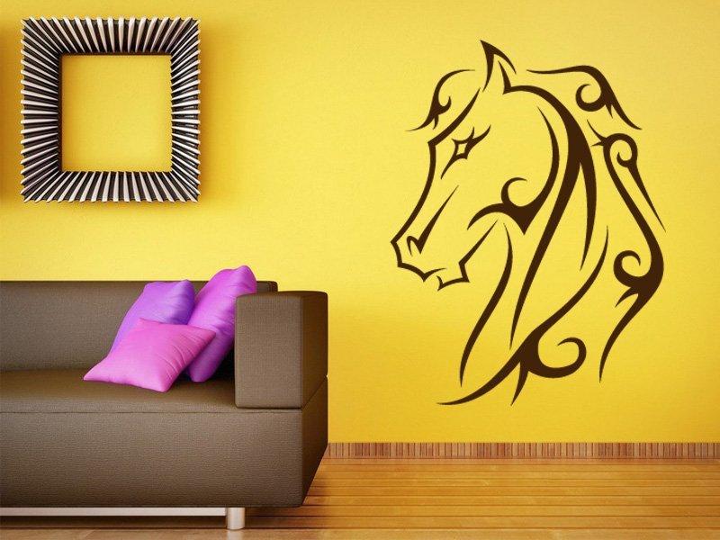 Samolepky na zeď Kůň 002 - Samolepící dekorace a nálepka na stěnu