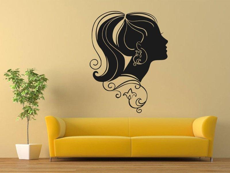 Samolepky na zeď Žena 014 - Samolepící dekorace a nálepka na stěnu
