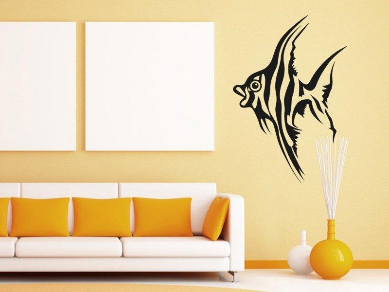 Samolepky na zeď Rybička 001 - Samolepící dekorace a nálepka na stěnu