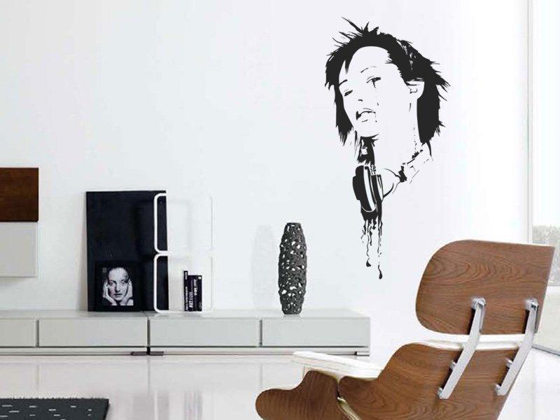 Samolepky na zeď DJ 006 - Samolepící dekorace a nálepka na stěnu