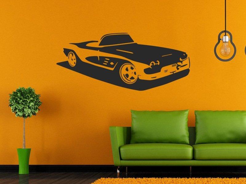 Samolepky na zeď Auto 053 - Samolepící dekorace a nálepka na stěnu