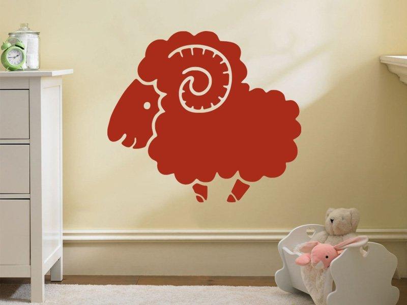 Samolepky na zeď Beran 003 - Samolepící dekorace a nálepka na stěnu