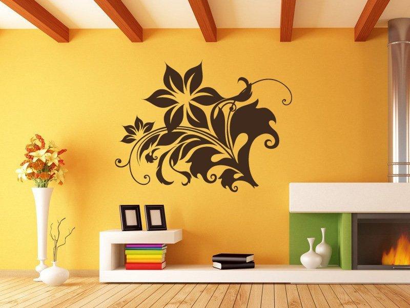 Samolepky na zeď Rostlina 008 - Samolepící dekorace a nálepka na stěnu