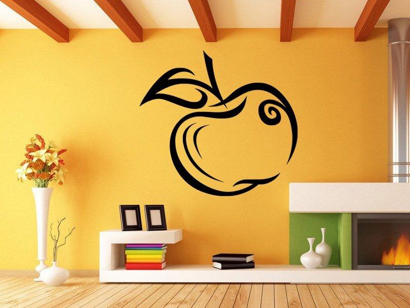 Samolepky na zeď Jablko 001 - Samolepící dekorace a nálepka na stěnu