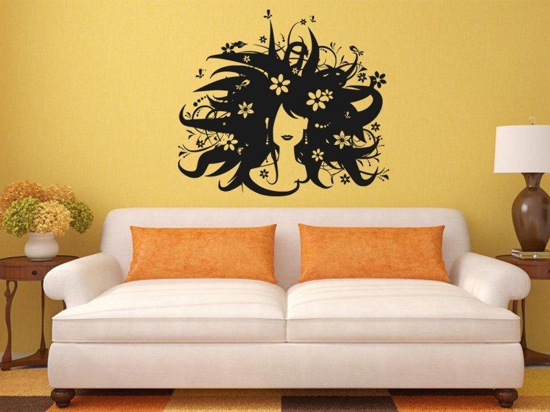 Samolepky na zeď Žena 005 - Samolepící dekorace a nálepka na stěnu