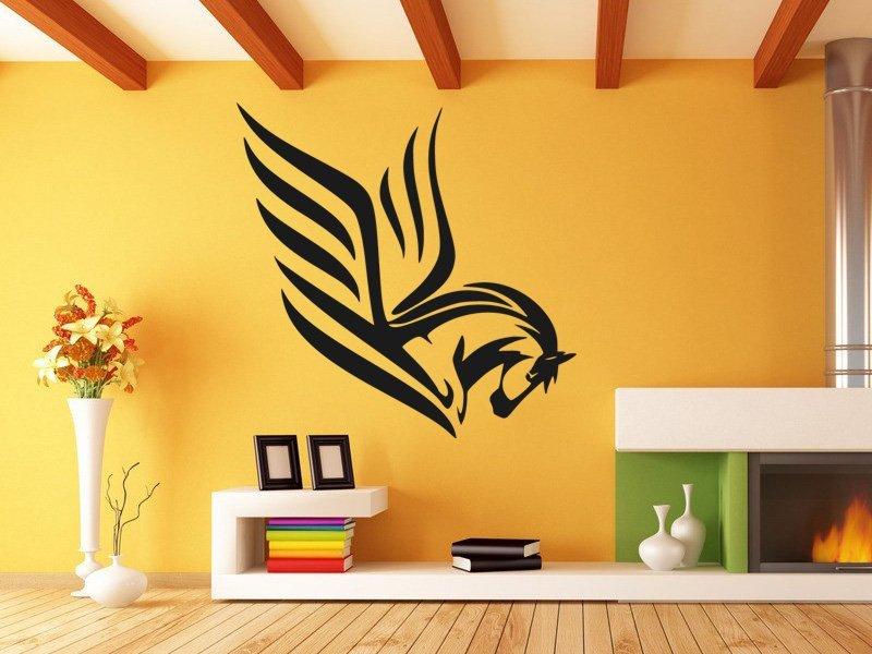 Samolepky na zeď Kůň 0390 - Samolepící dekorace a nálepka na stěnu