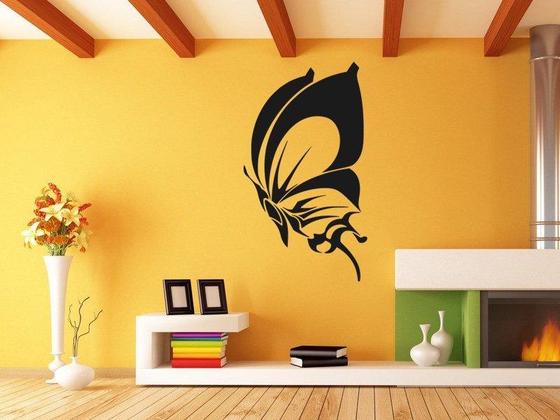 Samolepky na zeď Motýl 017 - Samolepící dekorace a nálepka na stěnu