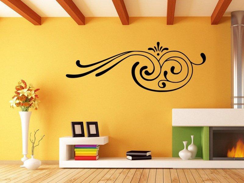 Samolepky na zeď Ornament 0175 - Samolepící dekorace a nálepka na stěnu