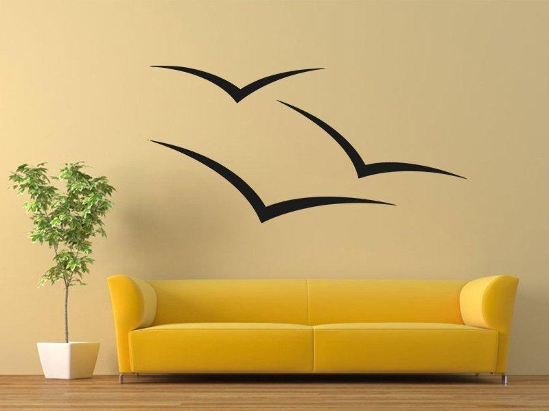 Samolepky na zeď Racci 0286 - Samolepící dekorace a nálepka na stěnu