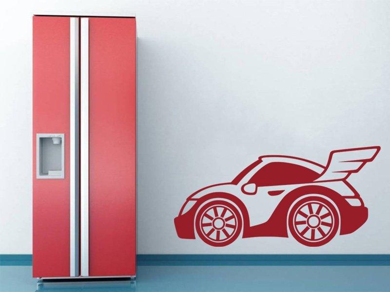 Samolepky na zeď Auto 050 - Samolepící dekorace a nálepka na stěnu
