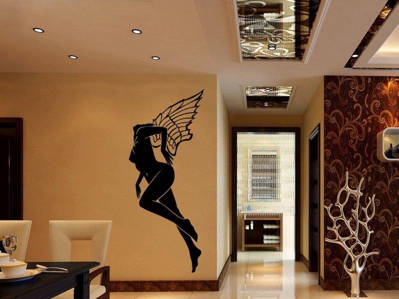 Samolepky na zeď Dívka 008 - Samolepící dekorace a nálepka na stěnu