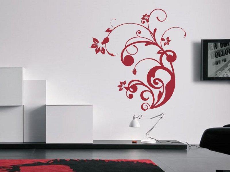 Samolepky na zeď Rostlina 004 - Samolepící dekorace a nálepka na stěnu