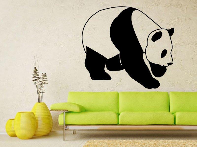 Samolepky na zeď Panda 004 - Samolepící dekorace a nálepka na stěnu