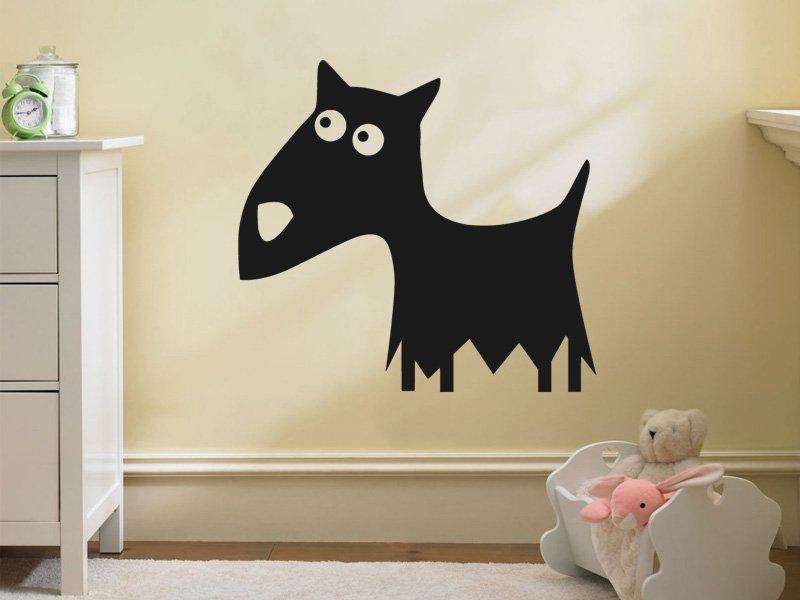 Samolepky na zeď Pejsek 009 - Samolepící dekorace a nálepka na stěnu