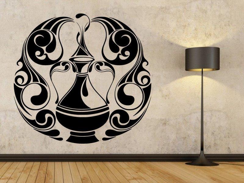 Samolepky na zeď Váza 0190 - Samolepící dekorace a nálepka na stěnu