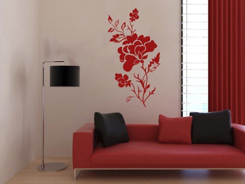 Samolepky na zeď Růže 010