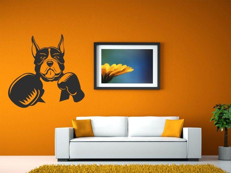 Samolepky na zeď Pes 008 - Samolepící dekorace a nálepka na stěnu