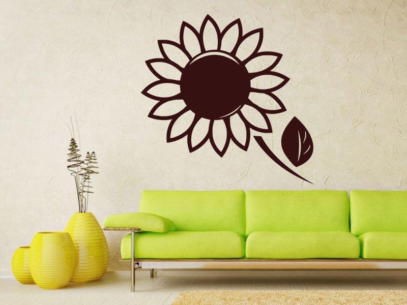 Samolepky na zeď Květiny 002 - Samolepící dekorace a nálepka na stěnu