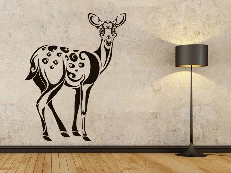 Samolepky na zeď Laň 001 - Samolepící dekorace a nálepka na stěnu