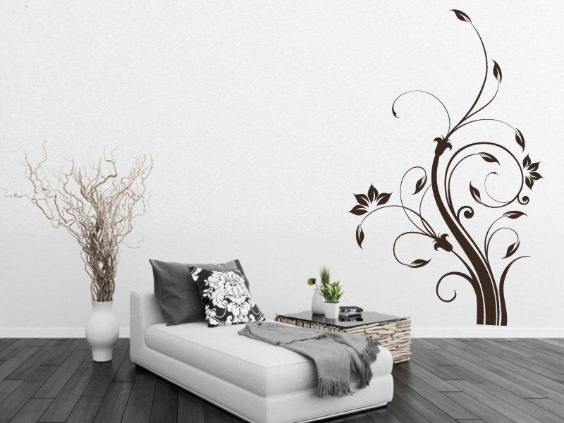 Samolepky na zeď Rostlina 007 - Samolepící dekorace a nálepka na stěnu