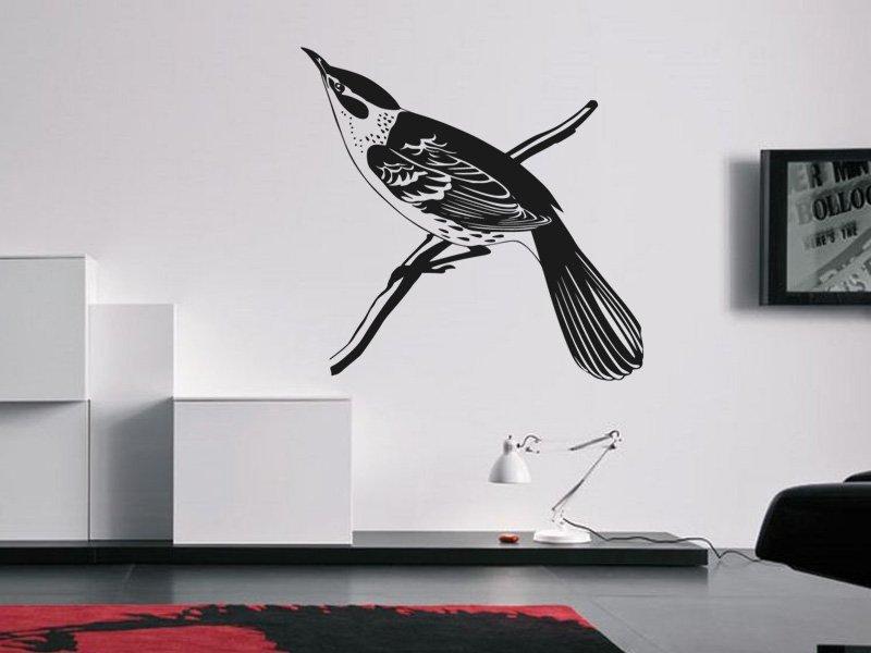 Samolepky na zeď Pták 016 - Samolepící dekorace a nálepka na stěnu