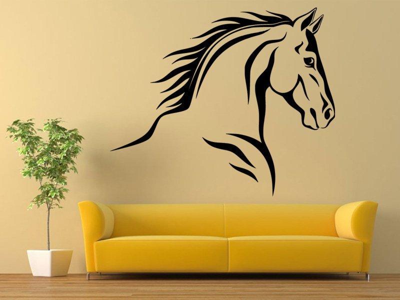 Samolepky na zeď Kůň 0337 - Samolepící dekorace a nálepka na stěnu
