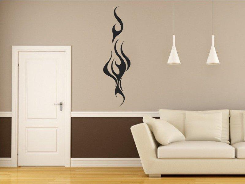 Samolepky na zeď Plameny 004 - Samolepící dekorace a nálepka na stěnu