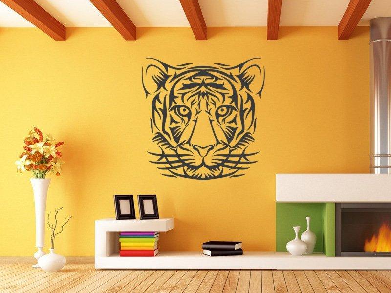 Samolepky na zeď Tygr 013 - Samolepící dekorace a nálepka na stěnu