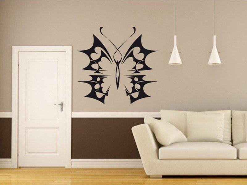 Samolepky na zeď Motýl 009 - Samolepící dekorace a nálepka na stěnu