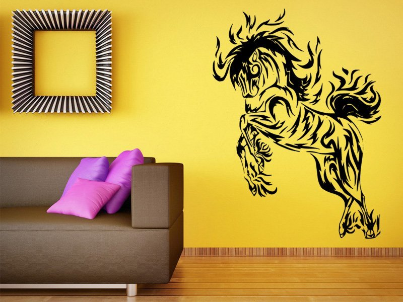 Samolepky na zeď Kůň 0339 - Samolepící dekorace a nálepka na stěnu