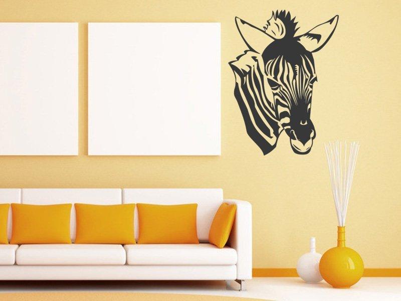 Samolepky na zeď Zebra 017 - Samolepící dekorace a nálepka na stěnu