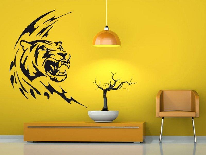 Samolepky na zeď Tygr 001 - Samolepící dekorace a nálepka na stěnu