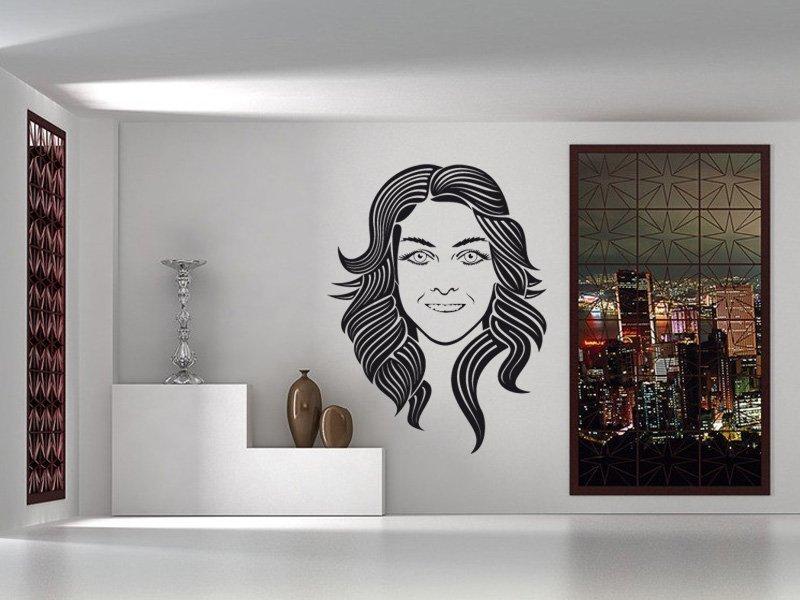 Samolepky na zeď Žena 001 - Samolepící dekorace a nálepka na stěnu