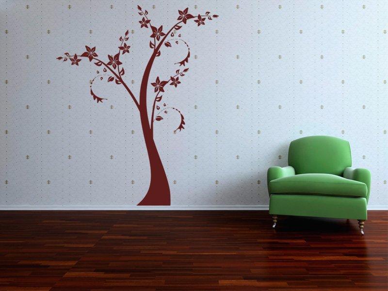 Samolepky na zeď Strom 064 - Samolepící dekorace a nálepka na stěnu