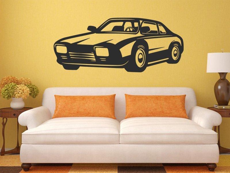 Samolepky na zeď Auto 0912 - Samolepící dekorace a nálepka na stěnu