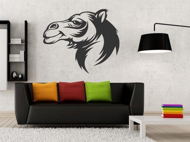 Samolepky na zeď Velbloud 001 - Samolepící dekorace a nálepka na stěnu