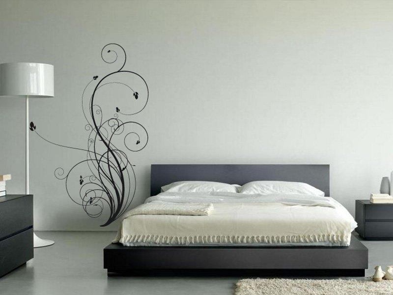 Samolepky na zeď Výhonky 002 - Samolepící dekorace a nálepka na stěnu