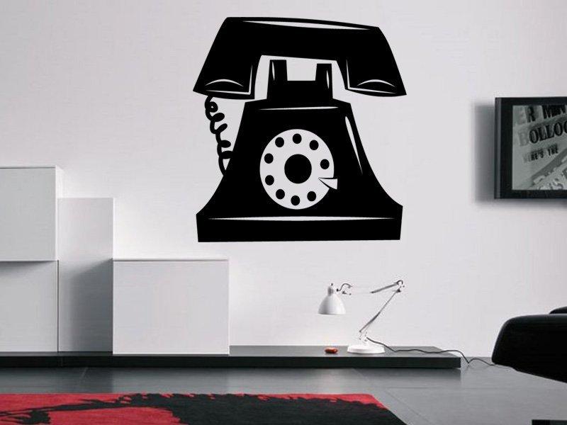 Samolepky na zeď Telefon 0295 - Samolepící dekorace a nálepka na stěnu