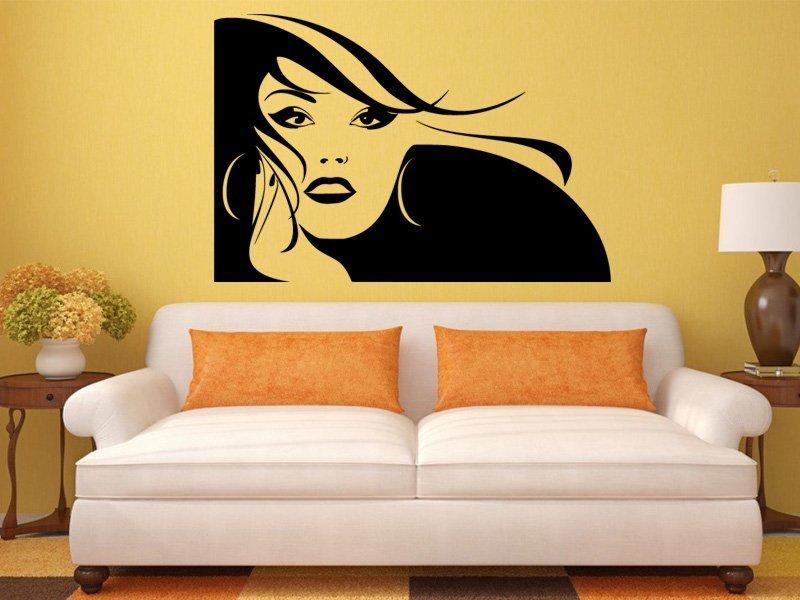 Samolepky na zeď Žena 038 - Samolepící dekorace a nálepka na stěnu