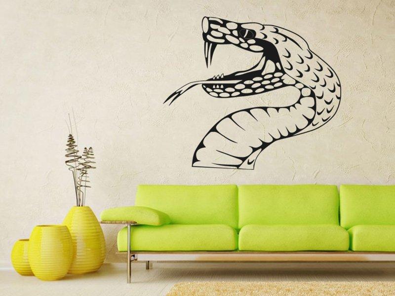Samolepky na zeď Zmije 001 - Samolepící dekorace a nálepka na stěnu