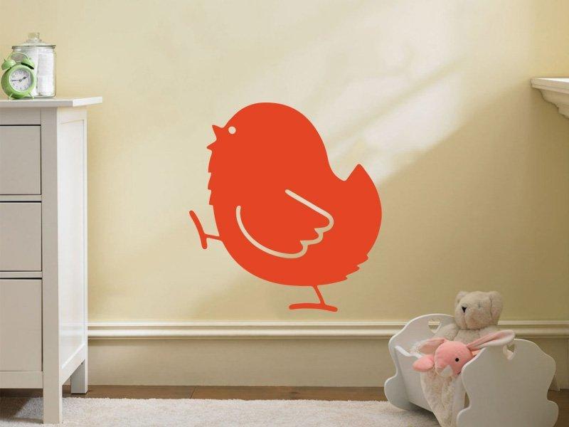 Samolepky na zeď Kuřátko 002 - Samolepící dekorace a nálepka na stěnu