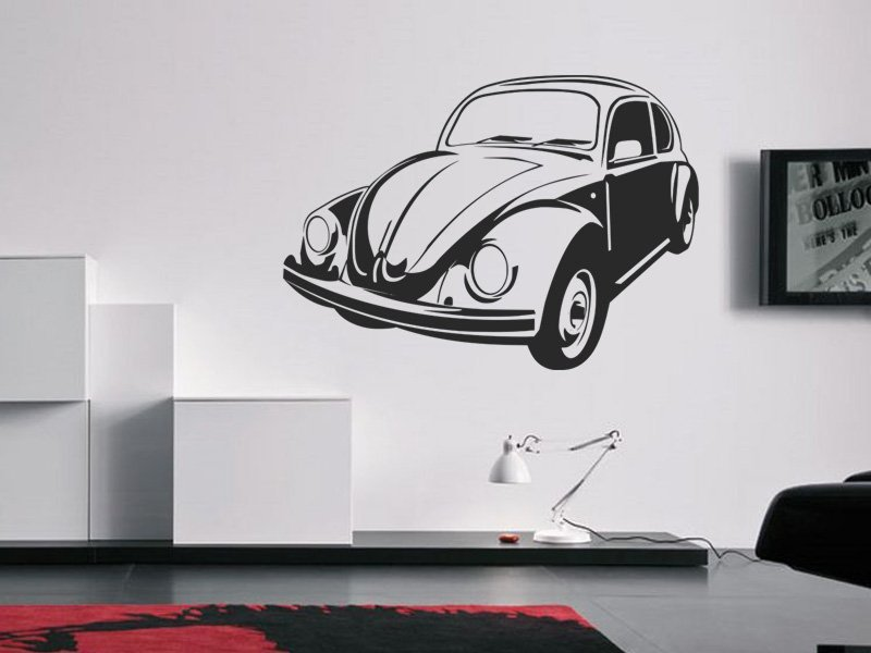 Samolepky na zeď Auto 059 - Samolepící dekorace a nálepka na stěnu