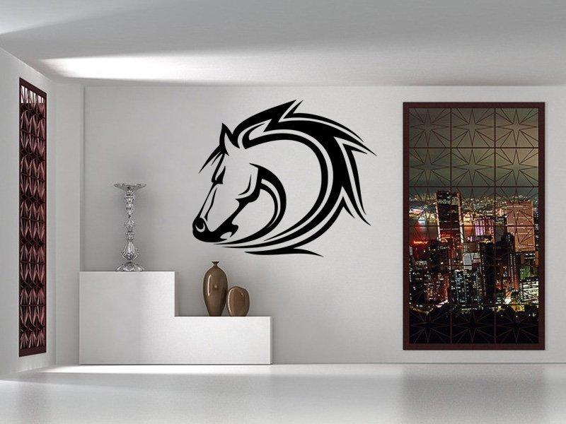 Samolepky na zeď Kůň 0315 - Samolepící dekorace a nálepka na stěnu