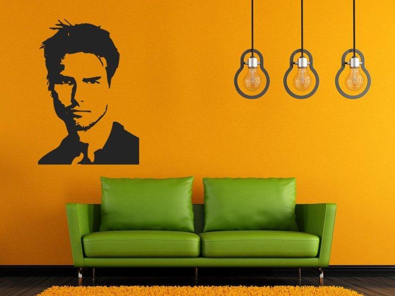 Samolepky na zeď Tom Cruise 001 - Samolepící dekorace a nálepka na stěnu