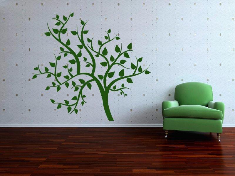 Samolepky na zeď Strom 059 - Samolepící dekorace a nálepka na stěnu