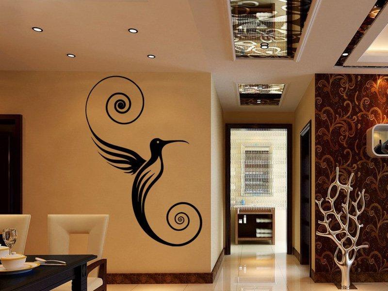 Samolepky na zeď Kolibřík 001 - Samolepící dekorace a nálepka na stěnu